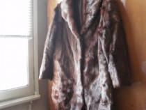 2 paltoane din blana naturala pentru femei