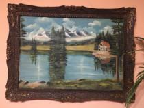 Tablou pictura in ulei pe panza 1990