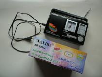 Mini radio portabil cu ceas Waxiba XB-291C !