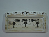 """Cuier """"Home sweet home"""""""
