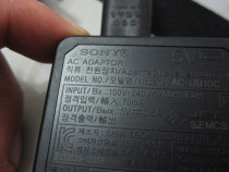 Incarcator/alimentator sony ac-ub10c original-ieftin