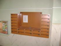 Cutii postale pentru scari de bloc.