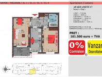 Apartament 2 camere, bloc nou, decebal residence