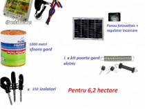 Set gard electric, pentru ~ 6,2 hectare cu panou fotovoltaic