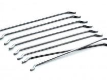 Fibre metalice cu ciocuri pentru armare dispersa