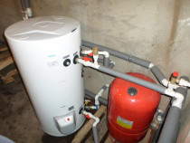 Instalez termo-boilere cu serpentina