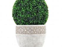 Planta Artificiala Sferica Verde Boxwood Ball D53 JB306153