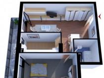 Apartament cu 2 camere in Gheorgheni (ID - 40827)