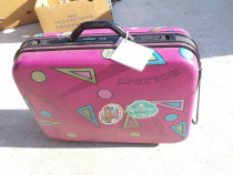 Troler plastic roz cu cifru