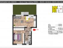 Direct Dezvoltator, Apartament 2 camere, Curte Proprie sud