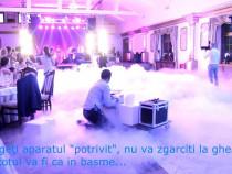 Job part time Sibiu: fum greu, drona, foto, video, dj decor