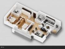 Apartament 3 camere tip 2 Titan 4 residence