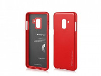 Husa Silicon Samsung Galaxy A8 2018 a530 Red Mercury i Jelly