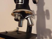 Microscop vintage colecție functional