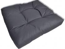 Pernă scaun 60 x 60 x 10 cm, Gri(40968)