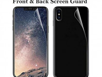 Folie Silicon TPU Apple iPhone X Fullcover Front+Back Ecran