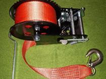 Troliu manual cablu sintetic Dragon Winch 3500lbs trage 1588