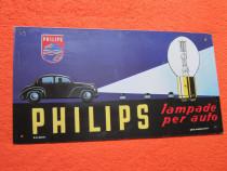Reclama Metalica Vintage - Philips