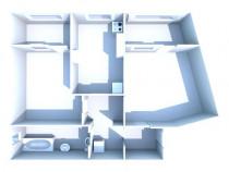 Apartament 2 camere dec, et.1/4, 55mp, faleza/centru/port