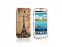 Husa Silicon HTC One M9 Eiffel Tower PRODUS NOU