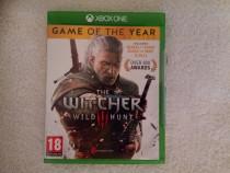 Joc the witcher wild hunt xbox one