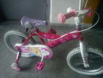Bicicleta barbie de fetita