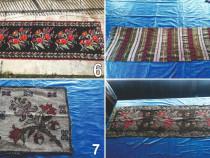 Covoare, carpete, presuri, paturi, cuverturi vechi din lana