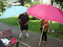 Umbrela soare plaja,grădină,pescuit 170 cm,flexibilă nouă