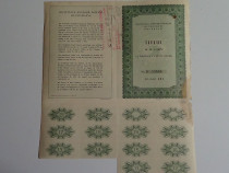 Actiuni vechi Societatea Anonima Romana de Telefoane 1930