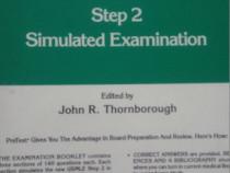 Pretest Step 2 Simulated Examination