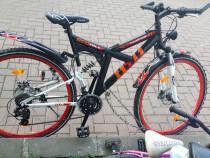 Bicicleta Mc kenzie ,suspenie,shimano,disc brake,aluminiu,28