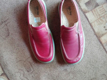 Pantofi barbati, marime 44, piele naturala. Made in Italy.