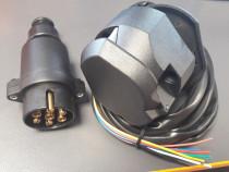 Instalație electrica pentru cupla remorci cu cablu
