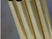 Teava de alama rotunda 30x1mm aliaj alama CuZn37 CW508L