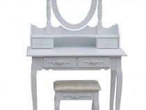 Masa cosmetică toaleta machiaj cu oglindă și scaun.-NOU