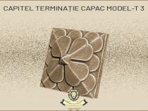 Capitel terminatie capac din beton model T3.
