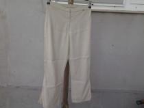 Orsay Bej pantaloni dama mar. 38 / M