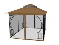Cort pavilion 3x3m premium pentru curte sau gradina