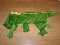 Costum carnaval serbare crocodil pentru catei