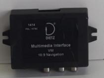 Interfața multimedia volkswagen