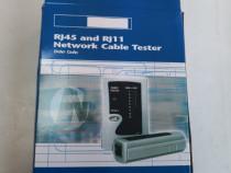 Tester cablu UTP, telefon RJ45 + RJ11