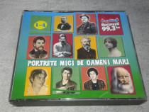 Portrete mici de oameni mari 4 CD-audio