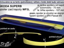 Eleron tuning luneta Skoda Superb 1 Mk1 B5 3U 2001-2008 v4