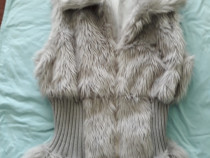 Vestuta de blana artificiala