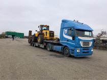 Transporturi agabaritice/ trailer cu rampe!