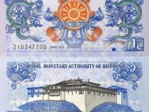 Lot 4 bancnote bhutan 2011-2013 - unc