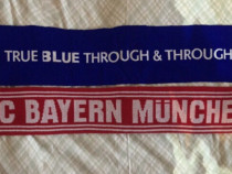 Fular echipe fotbal FC Bayern Munchen și Chelsea