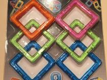 Joc de constructie magnetic PLAY SMART 6 piese