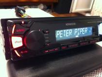 CD Player Kenwood KMM-264 Flac Usb(Hertz Focal Audison)