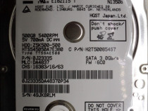 "Hard disk-hdd wd hgst 500 gb 2,5""-defect code: htb-tt5sae500"